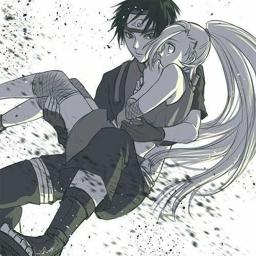sai, anime, and ino image