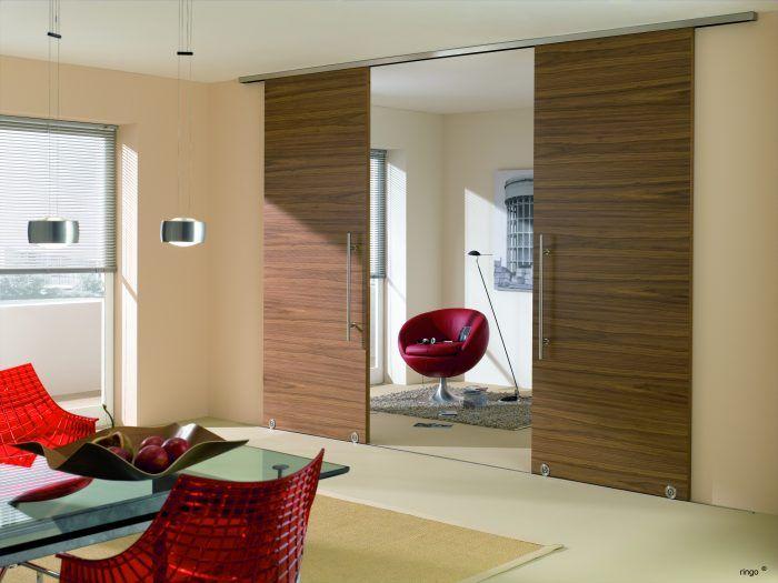 100 best modern contemporary sliding barn door hardware for Barn door room divider