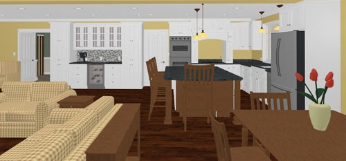 3D Renderings for Kitchen Design: — Award Winning Residential Design and Remodeling