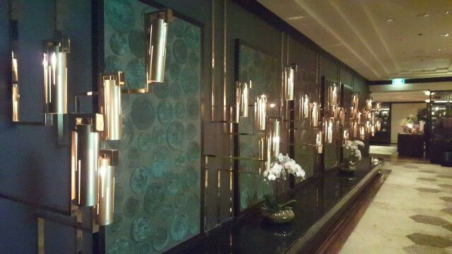 Photo 6:(Atrium)these arts colour and golden colour of lighting make hallway luxurious