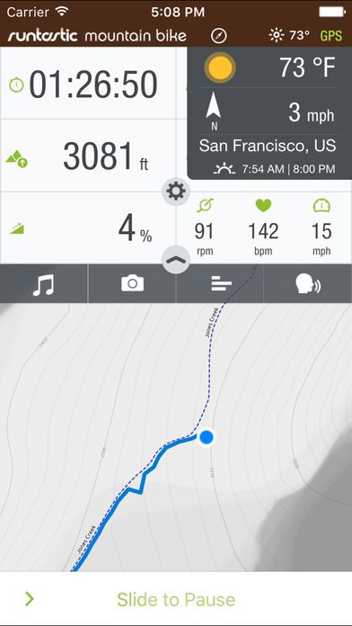 Runtastic Mountain Bike Ride & Route Tracker PRO on App Store:   The Runtastic Mountain Bike app turns your iPhone into a multifunctional GPS cycling computer! Whether youre on your favorite trails or exploring new...  Developer: runtastic  Download at http://ift.tt/YvOlMf