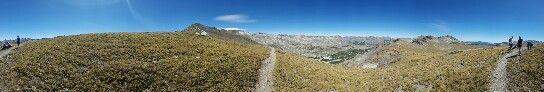 Camino a la Laguna de las Animas, las 7 Tazas, Chile, marzo 2016