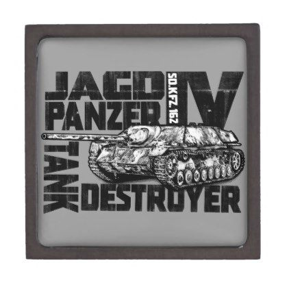 Jagdpanzer IV Magnetic Wooden Gift Box - home gifts cool custom diy cyo