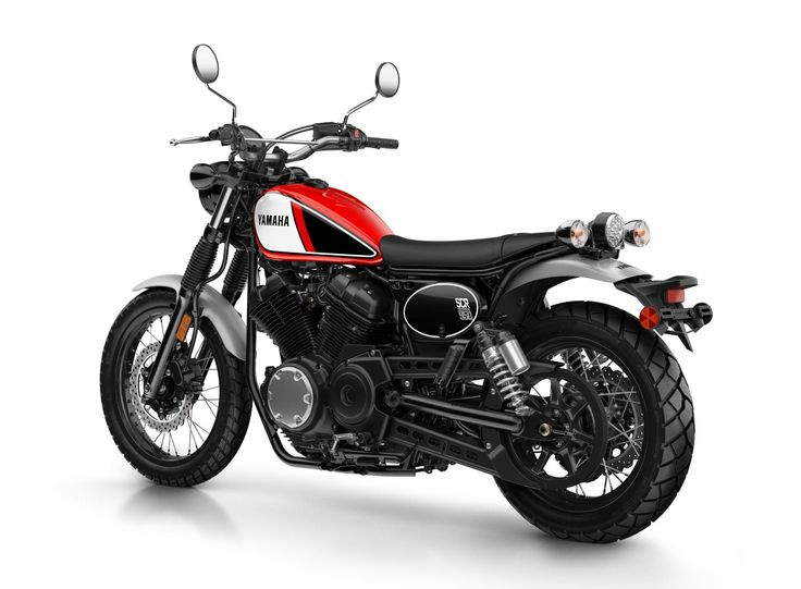 Yamaha SCR950: Stilechter Scrambler.