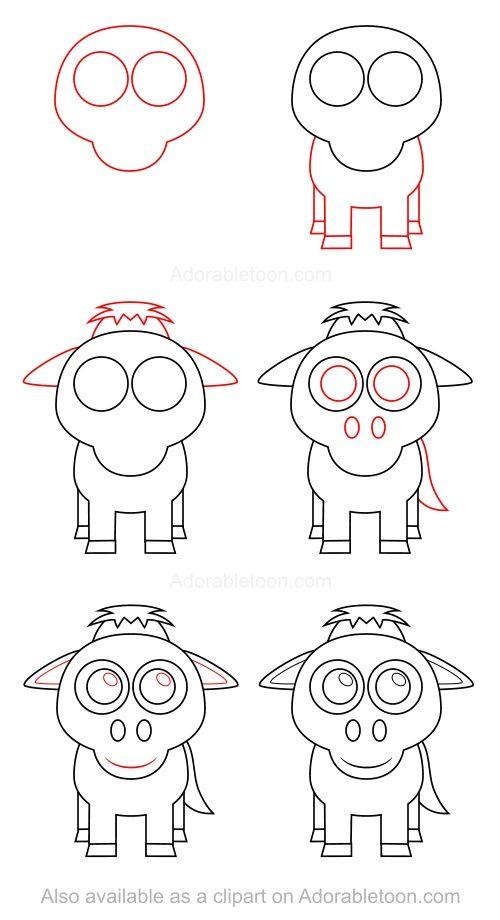 Les 80 meilleures images du tableau apprendre dessiner - Dessiner un chameau ...