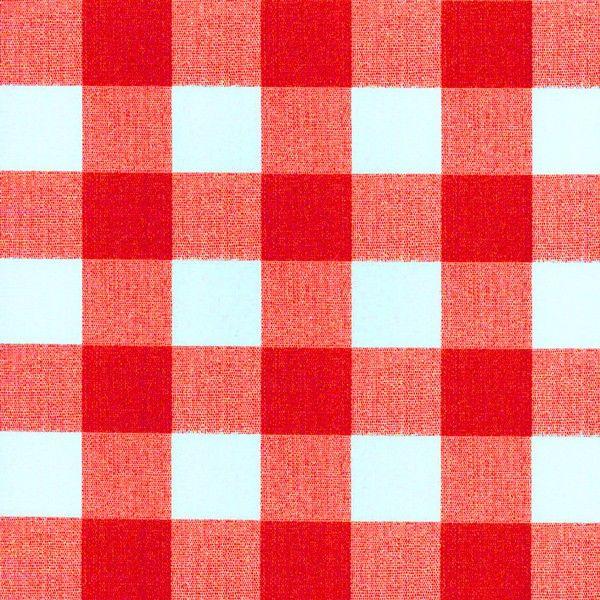 Tafelzeil rood-wit Geblokt - Geblokt tafelzeil met rood-wit ruiten van 3x3cm. Leuk voor in de keuken of op de tuintafel! Gemakkelijk schoon te houden met een vochtige doek. Valt soepel om uw tafel. Kies de gewenste lengte in het menu en we snijden het kaarsrecht voor u op maat.
