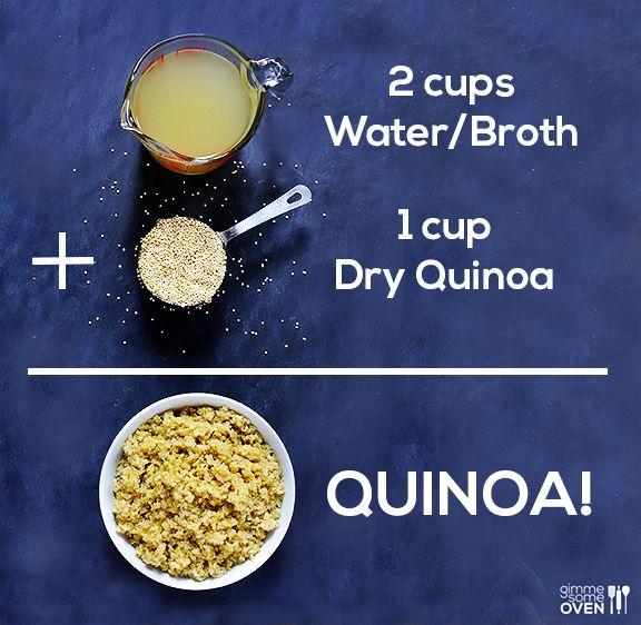 How To Cook Quinoa | gimmesomeoven.com