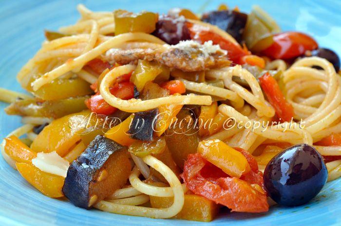 Spaghetti bella Napoli ricetta facile vickyart arte in cucina
