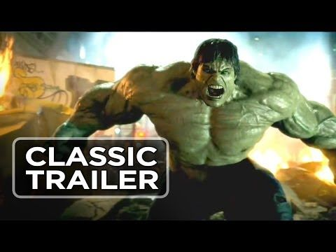The Incredible #Hulk (2008) Official Trailer #tbt