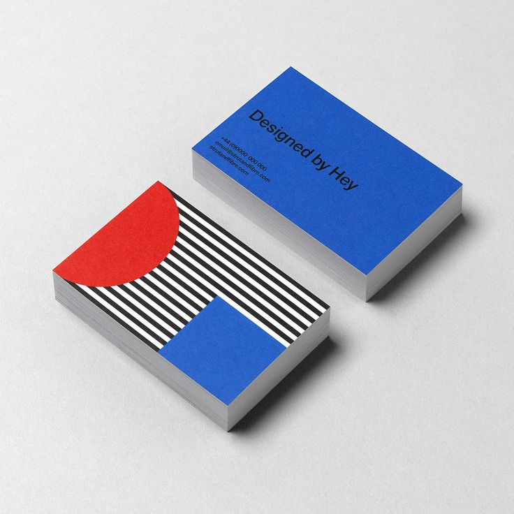 Business Card template designed by Hey Studio for Strut and Fibre's Ambassador Collection.