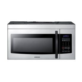 Samsung Ft Over The Range Microwave With Sensor Cooking Controls Stainless Steel Common Actual