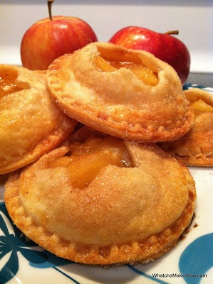 Mini Apple Pies using the Cut-N-Seal by Pampered Chef.. Love it!!!
