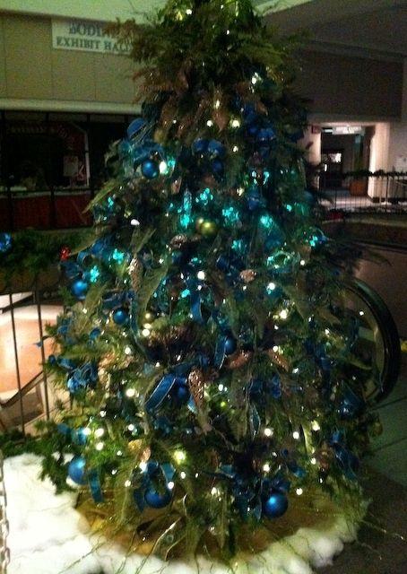 Flatback Christmas Tree