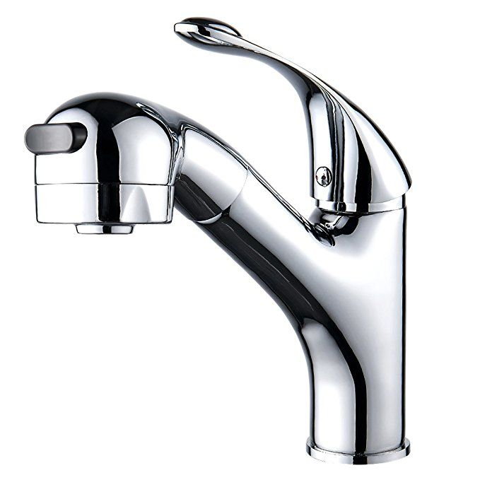 Fannybuy Pull Out Sprayer Kitchen Sink Faucet With Pull Down