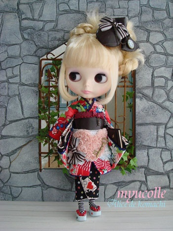 1000 Images About Blythe Doll Kimonos On Pinterest Nyc