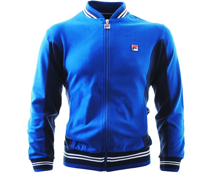 Fila Vintage Settanta Track Top Italia Blue - Terraces Menswear