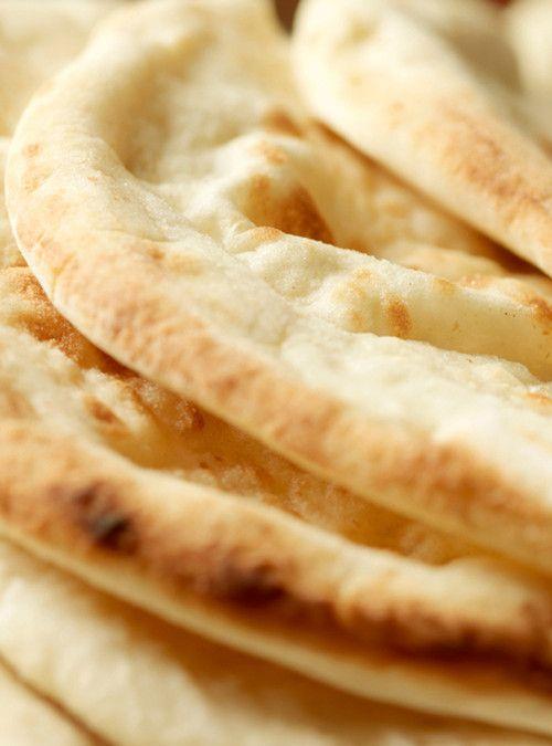 Croûtons de pain naan Recettes | Ricardo