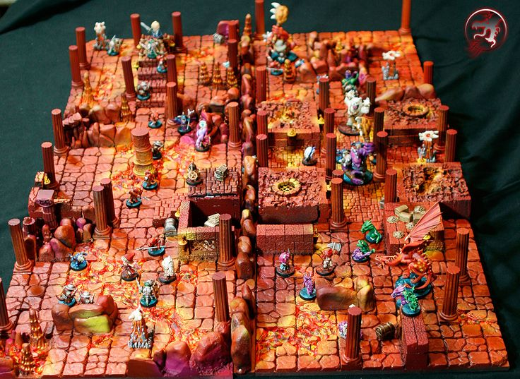super-dungeon-explore-09.jpg - Galleries - Figurepainters.com Custom Painted Minitures. Warmachine, Hordes, 40k, Malifaux and any other mini...