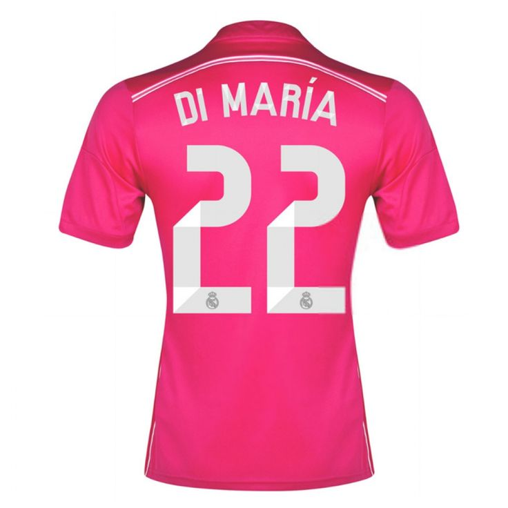 2014-15 Real Madrid Away Shirt (Di Maria 22) - Kids #Sport #Football #Rugby #IceHockey