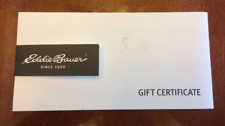 I never had the chance to use this gift certificate. It is a credit for 40.01 issued as a gift certificate. #dollars #card #certificate #gift #bauer #eddie