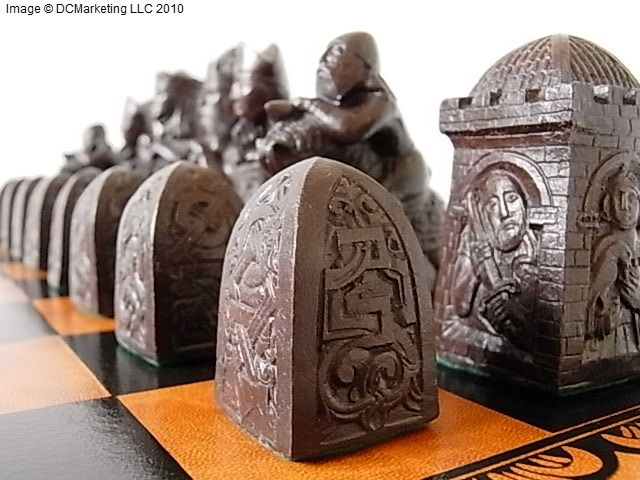Gorgeous chess set.