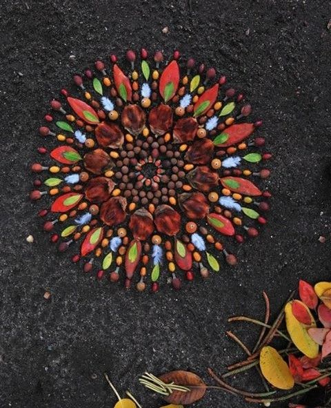 Nature mandala    https://www.facebook.com/pages/Healthy-Vibrant-You/381747648567846