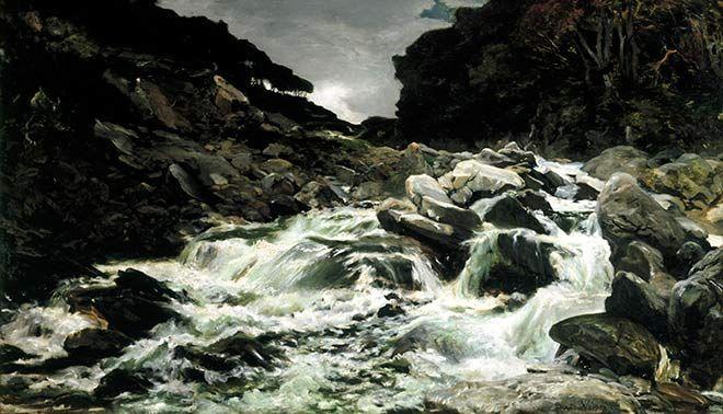 waterfall in the Otira Gorge' – Waterfalls – Te Ara ...