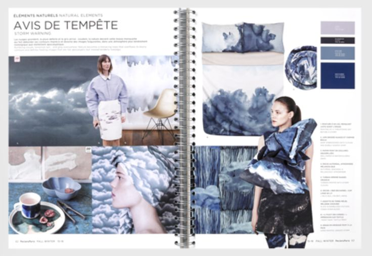 trends forecasting book - colour and print inspiration