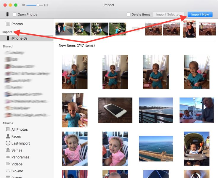 How to transfer photos from iPhone or iPad to Mac Iphone