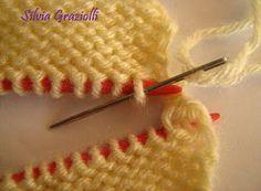 Olá meninas!! Fiz esse PAP para orientá-las na costura invisível de ombro (não arremate os pontos - deixe-os à espera numa agulha auxiliar...