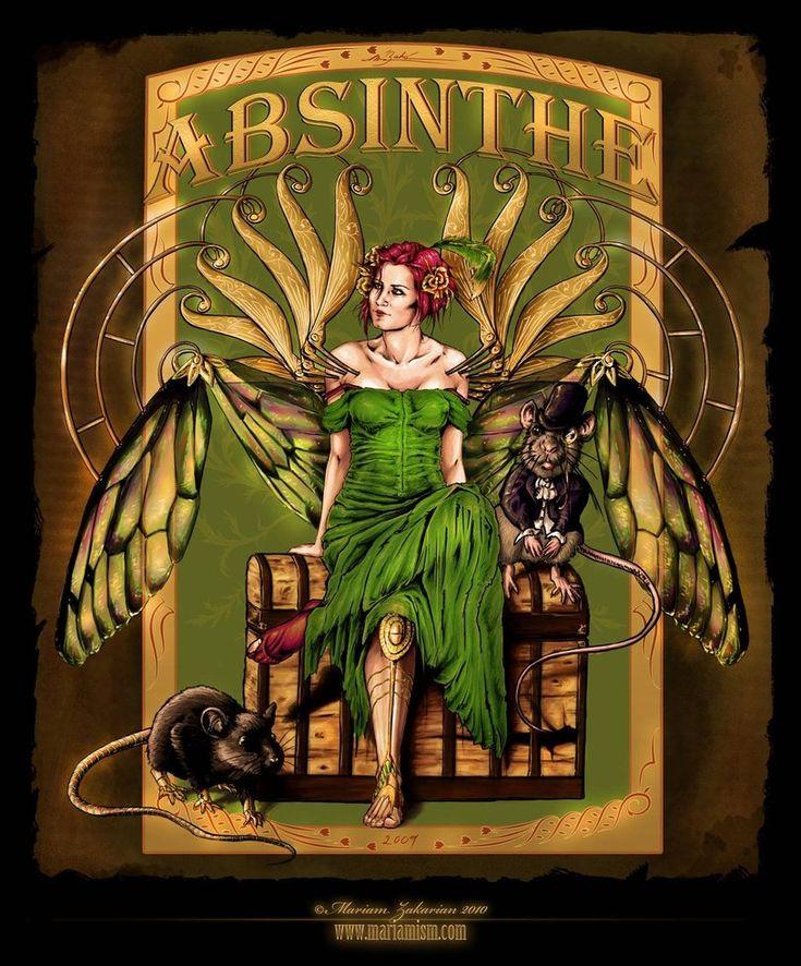 ʂŧɘąɱ ~ Steampunk & Victoriana ~  Artemisia Absinthium by mariamism