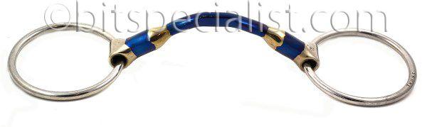 Watertrens anatomisch gevormd. stang Loose ring, anatomicaly shaped, unbroken