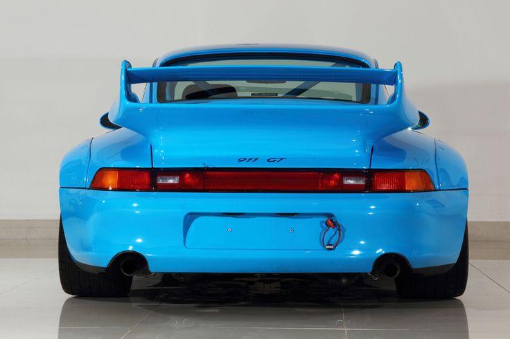 Riviera blue Porsche 993 GT2. #everyday993 #Porsche