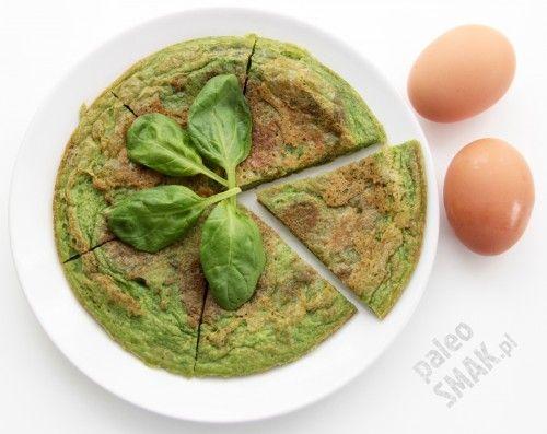 Zielone jajka - omlet ze szpinakiem, Paleo SMAK