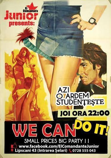We Can Do It! | PeLipscani.RO | Ghid dedicat Centrului Vechi | Petreceri in Bucuresti | Sambata seara | Centrul Istoric