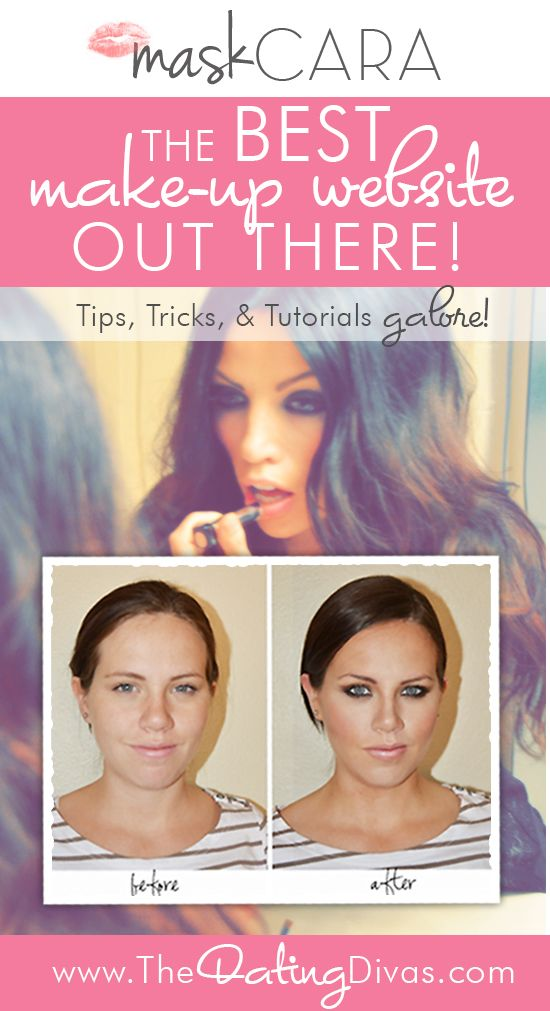 This website is UNREAL amazing! So many easy-to-apply makeup tutorials! Go from looking drab to fab in less than 15 minutes! www.TheDatingDivas.com #makeup #makeuptutorials #makeupwebsite
