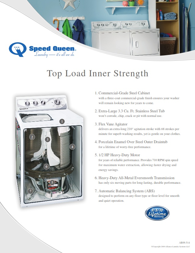 Top Load Inner Strength