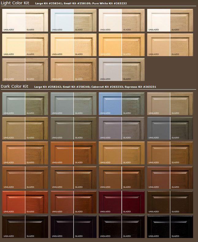 Rustoleum+Cabinet+Colors.jpg (646×789)