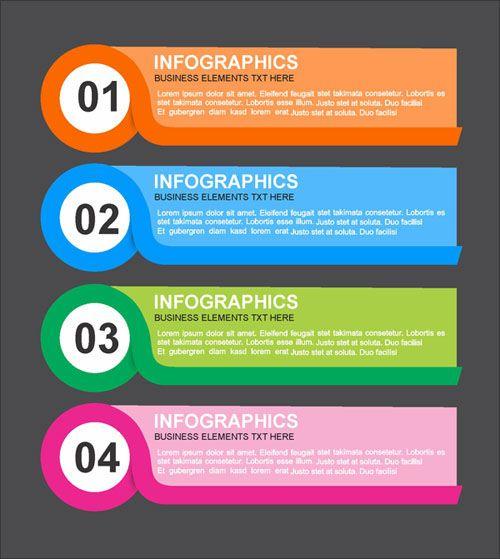 Free Infographics design vector (20125) Download, Coustamis