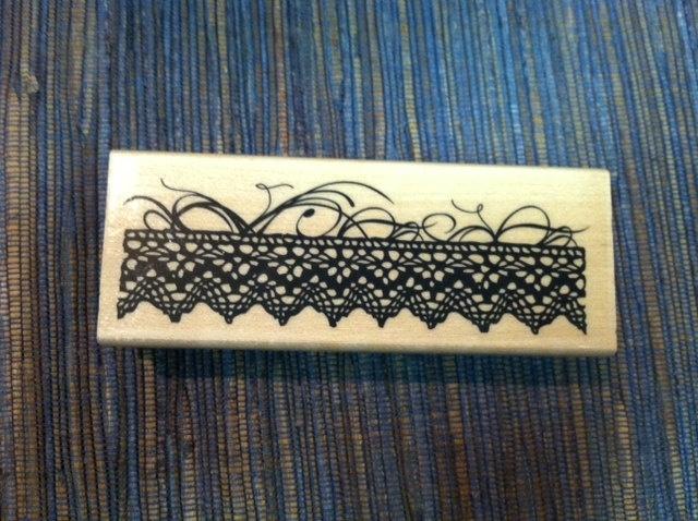 Lace Trim Stamp