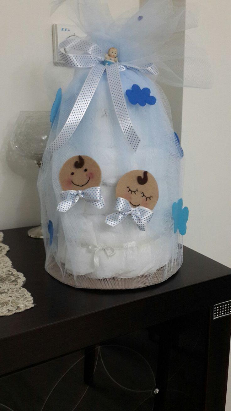 Bebek bezi süslemesi