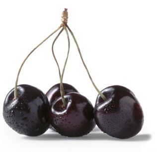 black cherries contain a, b, c, and e vitamins. they help with digestion and your immune system.