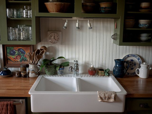 Cherry Kitchen Cabinets White Farm Sink Glastonbury Ct