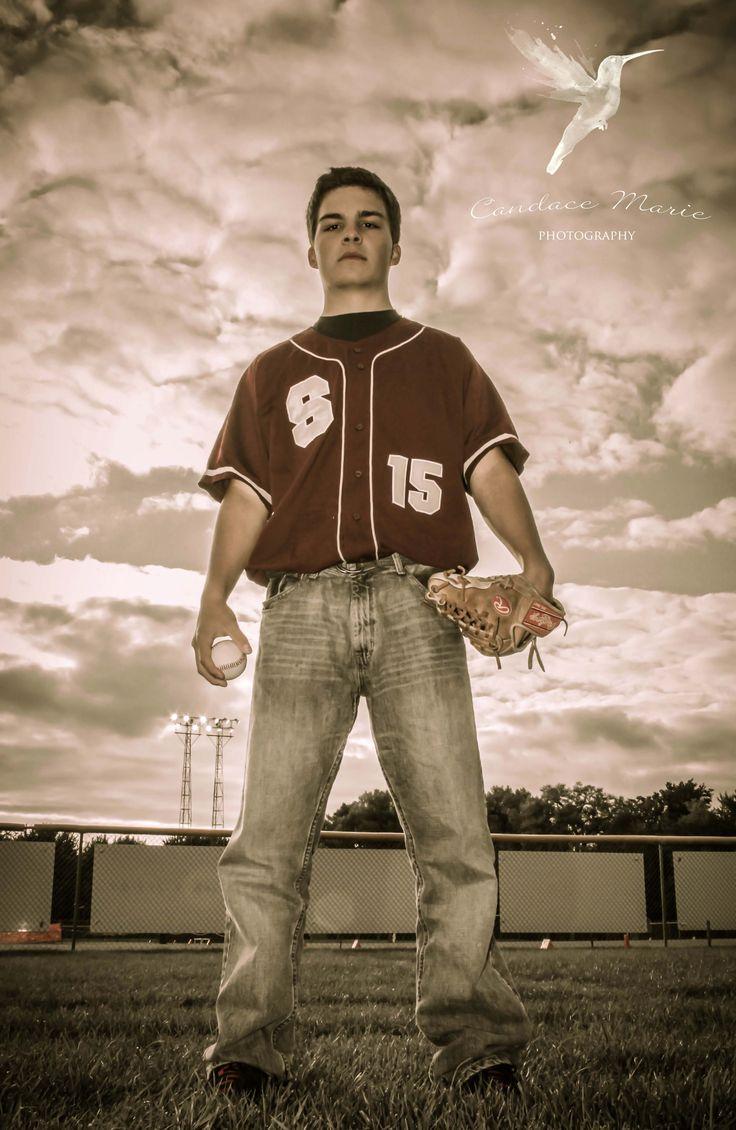 Guy Senior Photo, Baseball