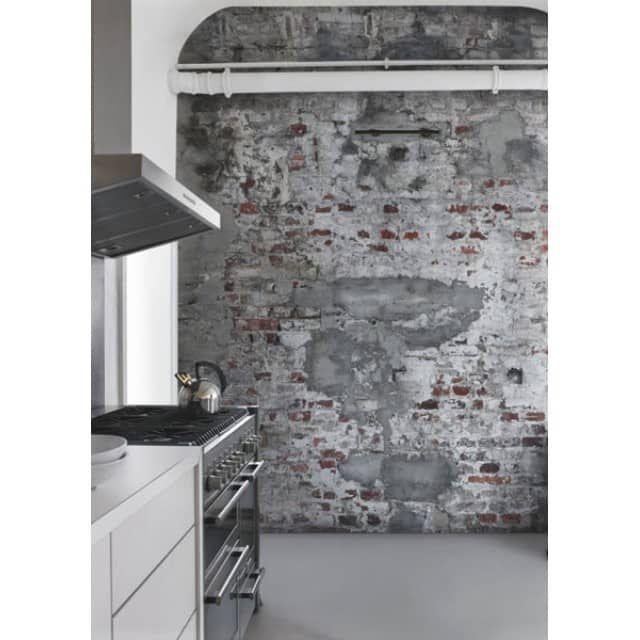 Beton-Tapete Brick Concrete 14445404 - 5qm