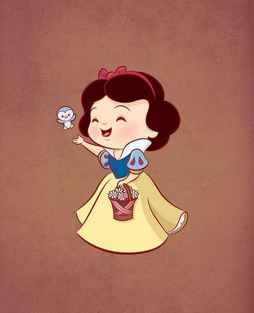 Kawaii style Snow White by Jerrod Maruyama