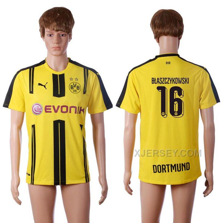 http://www.xjersey.com/201617-dortmund-16-blaszczykowski-home-thailand-soccer-jersey.html 2016-17 DORTMUND 16 BLASZCZYKOWSKI HOME THAILAND SOCCER JERSEY Only $35.00 , Free Shipping!