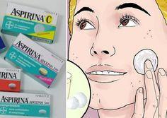 Mezcla miel y aspirina y aplícalo en tu rostro durante 10 minutos: ¡Luego de tres horas mírate en el espejo. MILAGRO!   Salud con Remedios