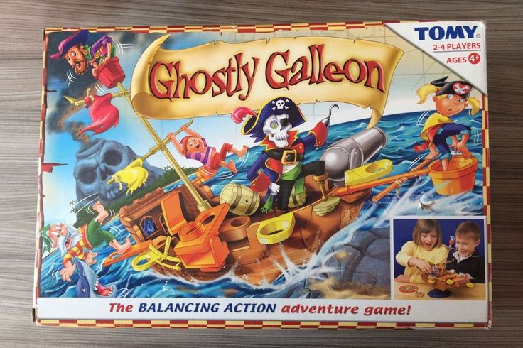 Ghostly Galleon - Game by TOMY - Balancing action adventure game - 100% COMPLETE