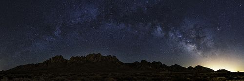 Organ Mountains Milky Way